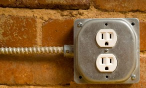 Outside Electrical Outlet ($199 Value)