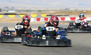 Two, Same-Day Go-Karting Sessions for One Rider ($35 Value)